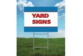 Yard Signs In Sunrise C Spring